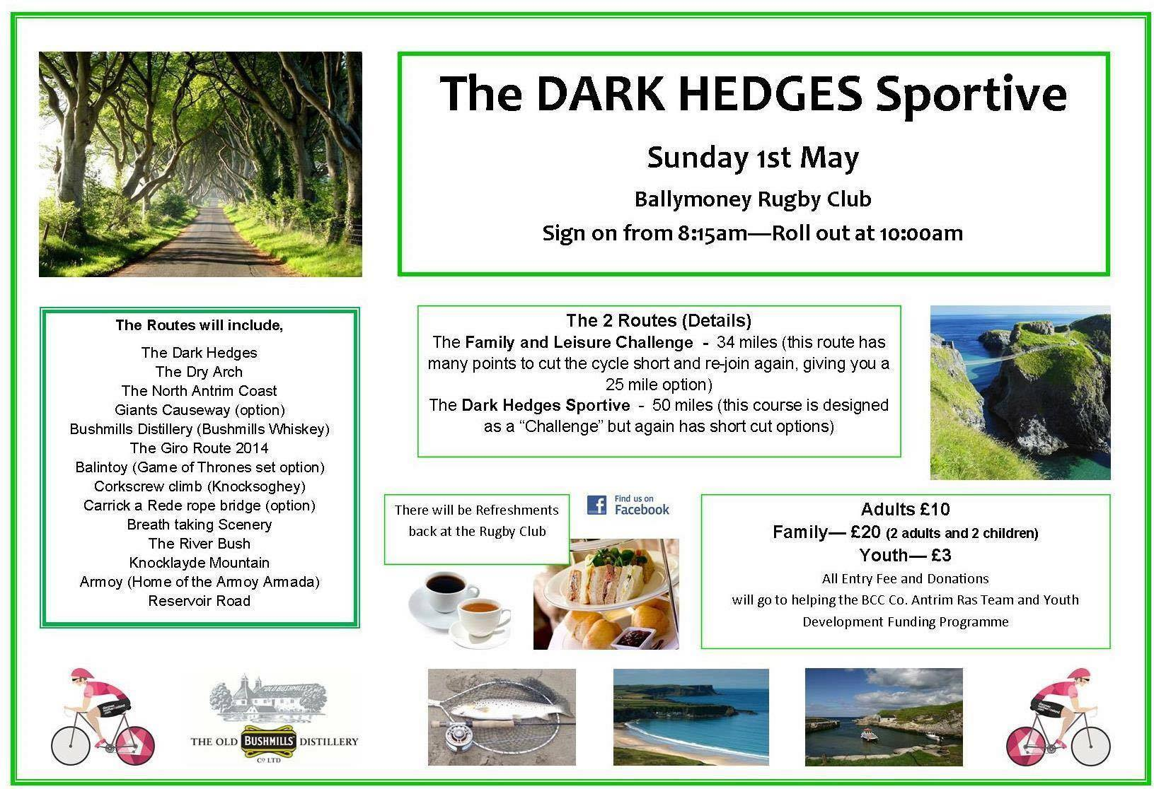 Dark Hedges Sportive